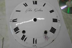 Cadran d'horloge Felix Gabus (env 1840)