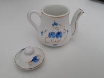Miniature Dinette Porcelaine - Pot vue droite