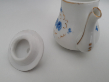 Miniature Dinette Porcelaine - Pot vue face