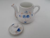Miniature Dinette Porcelaine - Pot vue gauche